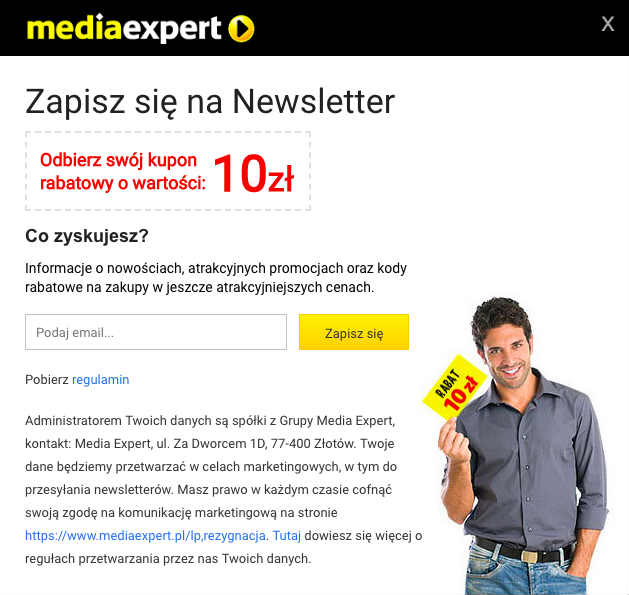 media expert newsletter rabat