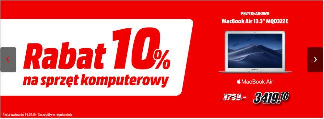 Rabat 10% w Media Markt